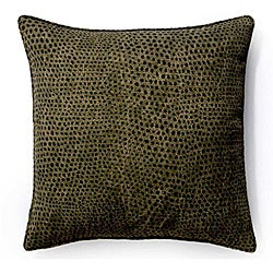 Ebony Cheetah 20x20-inch Outdoor Pillow