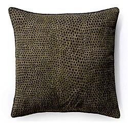 Ebony Cheetah 20x20-inch Outdoor Pillow