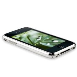 2-piece Case/ Mirror Screen Protector for Apple iPhone 3G/ 3GS - Thumbnail 2
