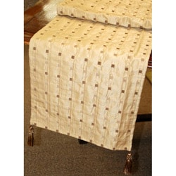 Corona Decor Italian Woven 70-inch Table Runner