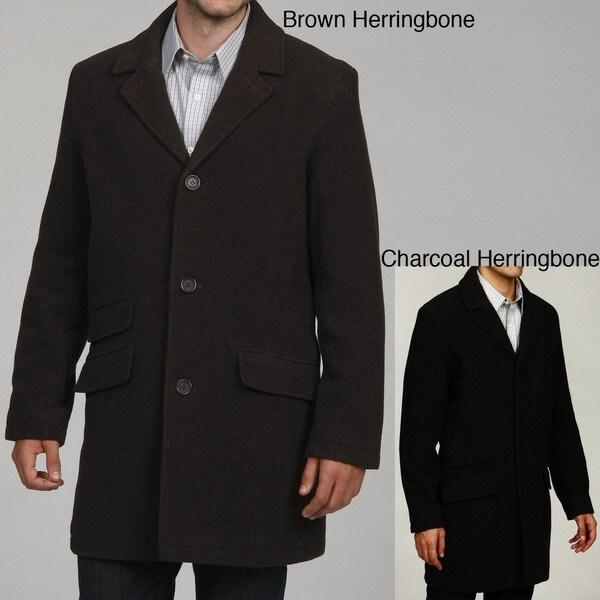 Tommy Hilfiger Men's Wool Topcoat FINAL SALE