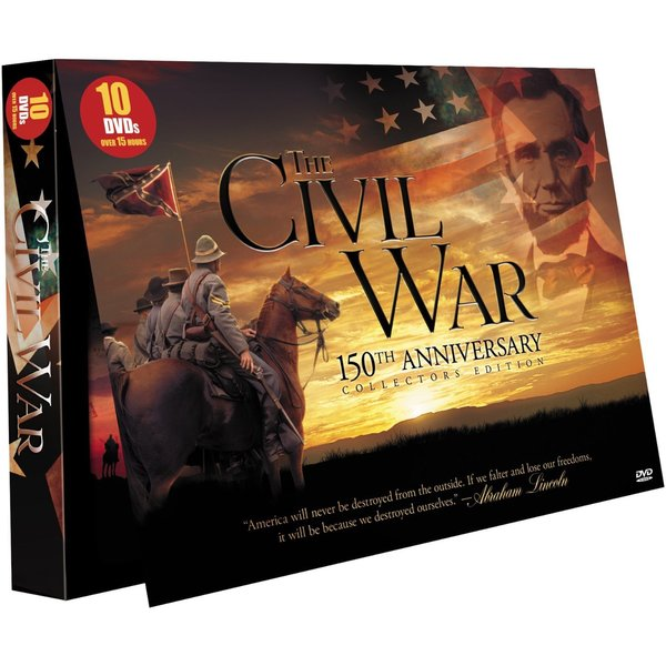 The Civil War: 150th Anniversary Collector's Edition (DVD)
