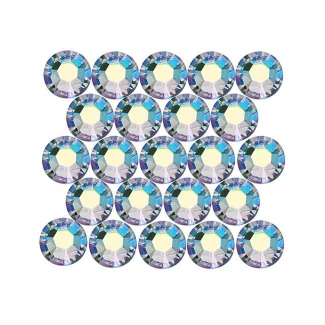 Beadaholique Light Colorado Topaz AB ss20 Crystal Flatback Rhinestones (Pack of 50)