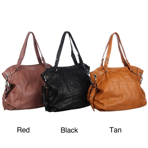 Shop Emperia Studded Shoulder Strap Tote Bag - Free Shipping On ... 365f541cbe9b2