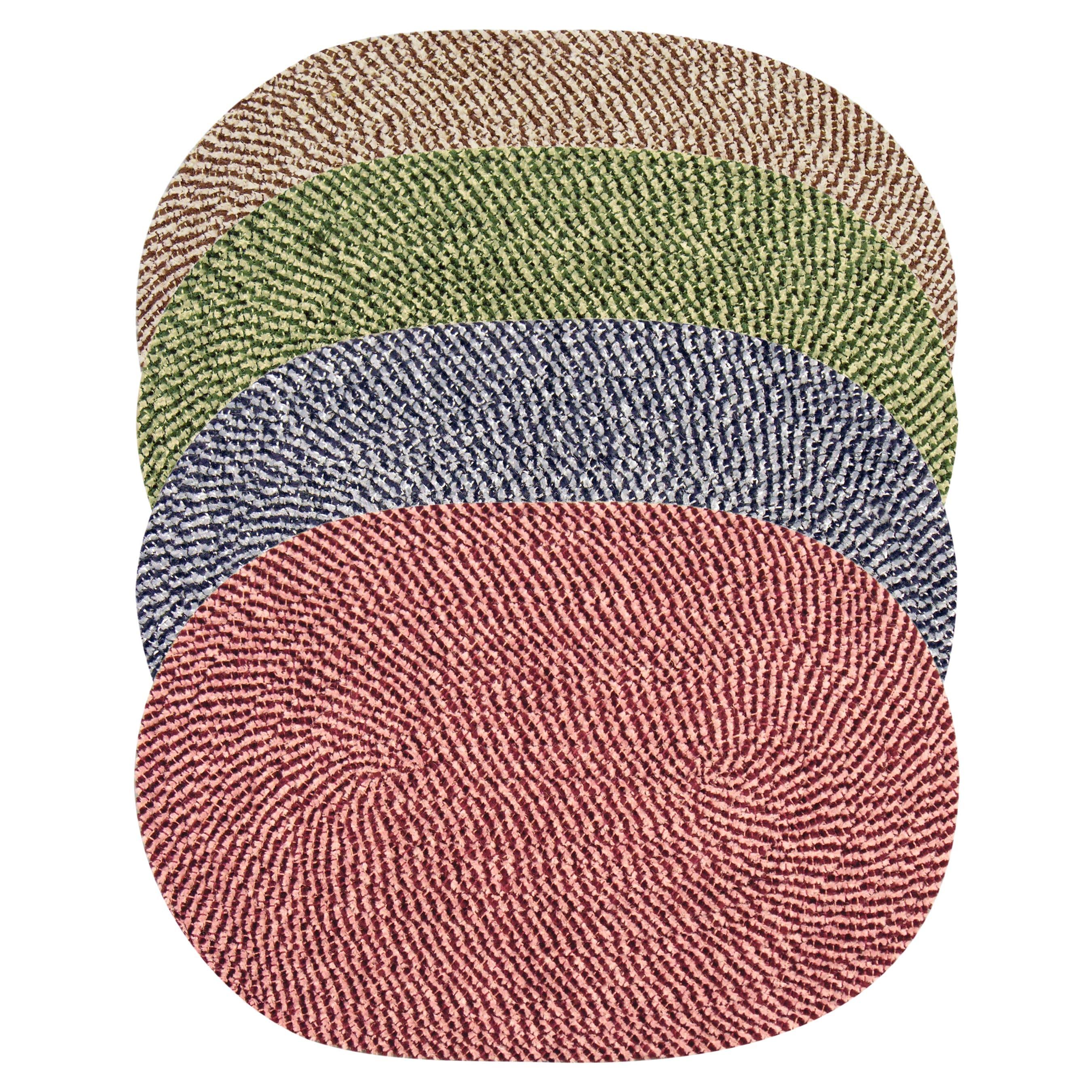 Legacy Chenille Tweed Braided Rug (3'6 x 5'6)