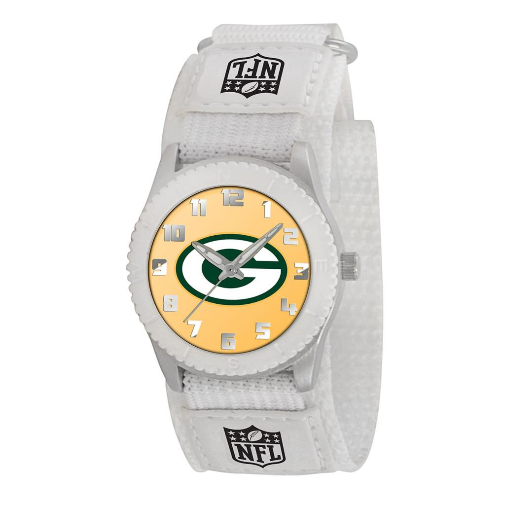 Game Time NFL Green Bay Packers White Rookie Series Watch