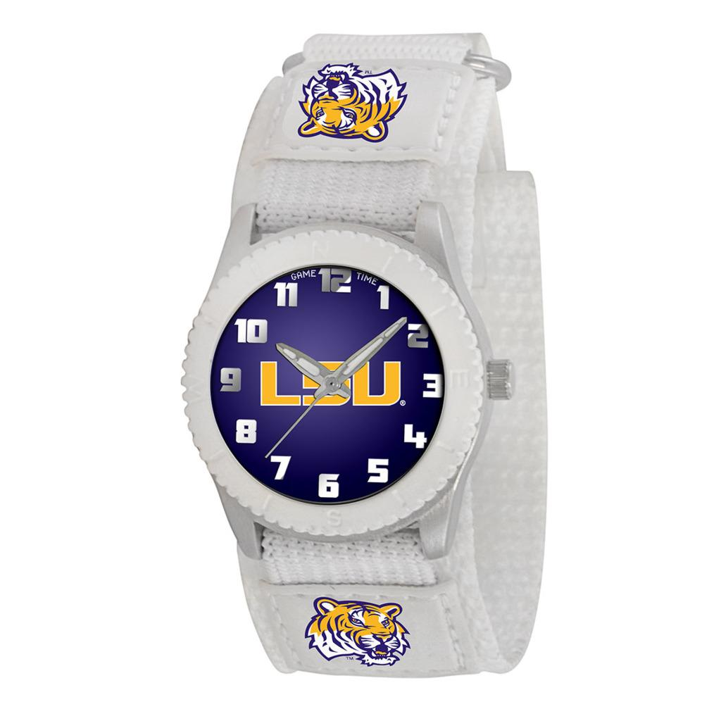 LSU Tigers Game Time White Rookie Series Watch - Free Shipping On ...