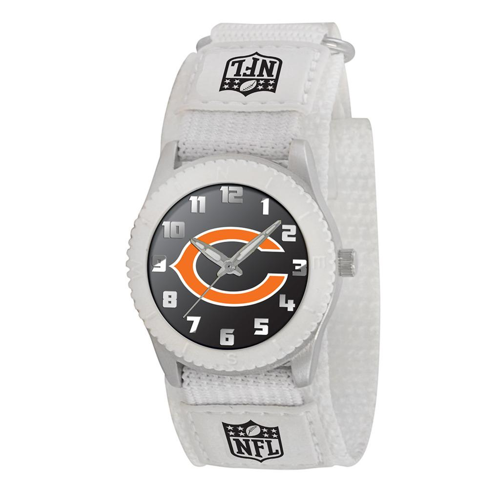 Game Time NFL Chicago Bears White Rookie Series Watch