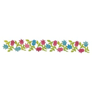 Sizzix Sizzlits Decorative Strip 'Flowering Foliage' Die