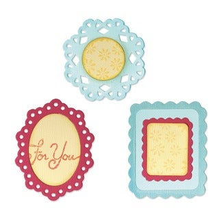 Sizzix Sizzlits Decorative Frames Dies (Set of 3)
