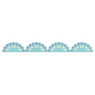 Sizzix Sizzlits Decorative Strip 'Lace Scallop' Die