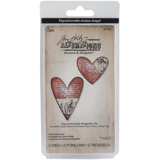 Sizzix Movers and Shapers Magnetic 'Hearts' Die