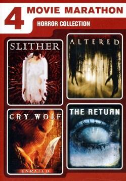4 Movie Marathon: Horror Collection (DVD)