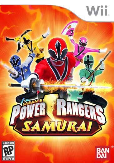 Wii - Power Rangers Samurai - By Namco Bandai