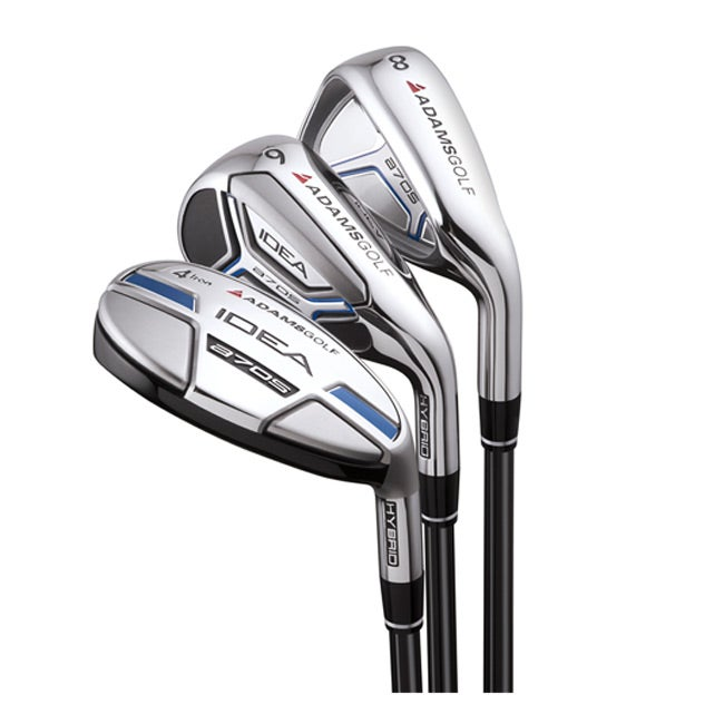 Adams Men's Idea A7 OS-R Steel Shaft Hybrid/ Iron Combo Set
