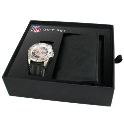 Chicago Bears Game Time Watch and Wallet Gift Set