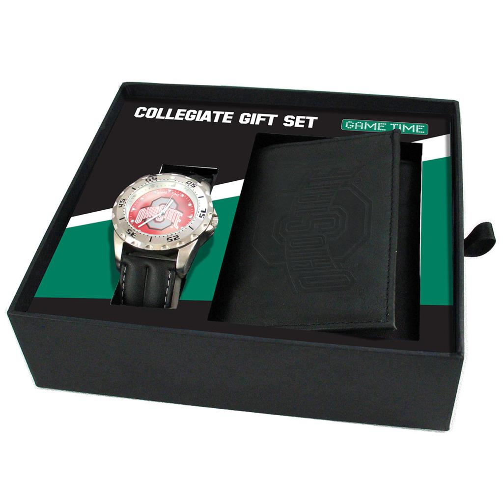 Ohio State Buckeyes Watch and Wallet Gift Set
