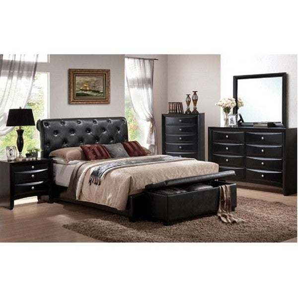 Vegas 5 Piece Queen Bedroom Set