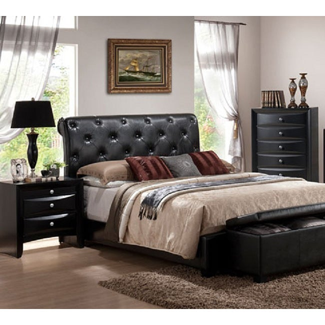 Vegas 3 piece california king bedroom set free shipping - California king storage bedroom sets ...