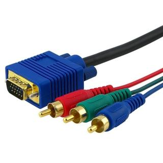 INSTEN Premium 3-foot VGA to Component Cable