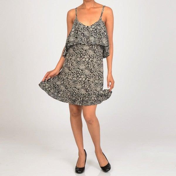 Elan Women's Ruffled Spaghetti Strap Dress