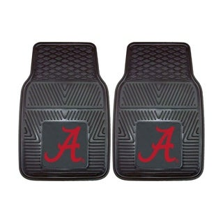Fanmats Alabama 2-piece Vinyl Car Mats