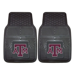 Fanmats Texas A&M 2-piece Vinyl Car Mats