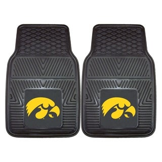 Fanmats Iowa 2-piece Vinyl Car Mats