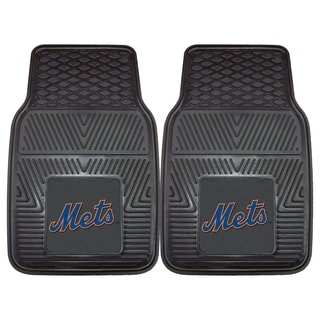 Fanmats New York Mets 2-piece Vinyl Car Mats