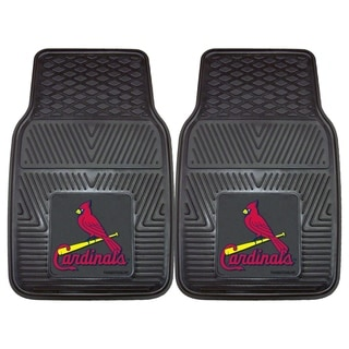 Fanmats St Louis Cardinals 2-piece Vinyl Car Mats