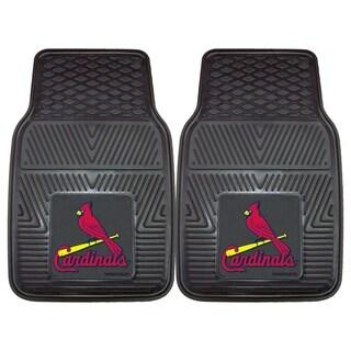 Fanmats St Louis Cardinals 2-piece Vinyl Car Mats