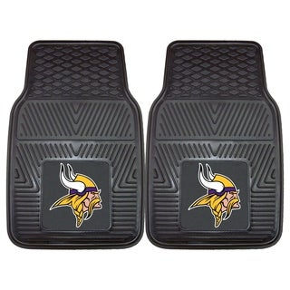 Fanmats Minnesota Vikings 2-piece Vinyl Car Mats
