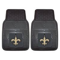Fanmats New Orleans Saints 2-piece Vinyl Car Mats