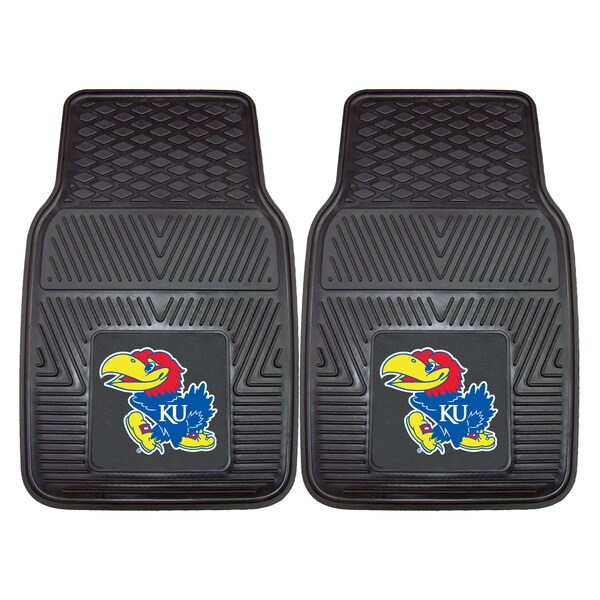 Fanmats Kansas 2-piece Vinyl Car Mats