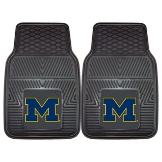 Fanmats Michigan 2-piece Vinyl Car Mats