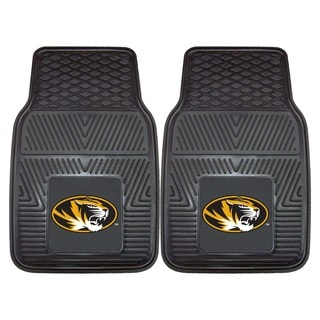 Fanmats University of Missouri 2-piece Vinyl Car Mats