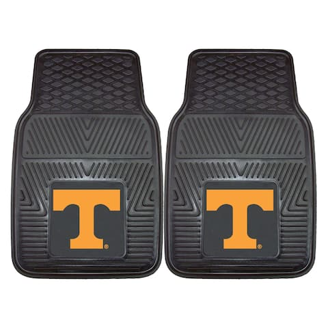 "University of Tennessee 2 Piece Vinyl Car Mat Set 17""x27"""