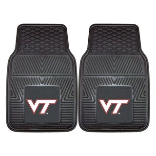 Fanmats Virginia Tech 2-piece Vinyl Car Mats