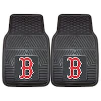 Fanmats Boston Red Sox 2-piece Vinyl Car Mats