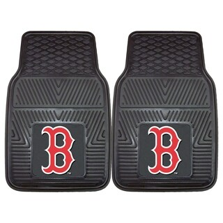 Fanmats Boston Red Sox 2-piece Vinyl Car Mats