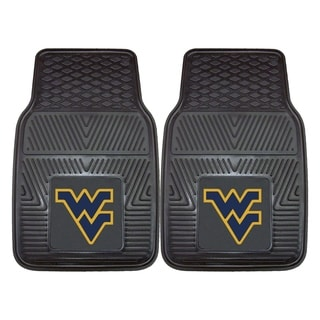 Fanmats West Virginia 2-piece Vinyl Car Mats