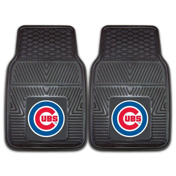 Fanmats Chicago Cubs 2-piece Vinyl Car Mats