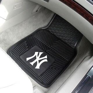 Fanmats New York Yankees 2-piece Vinyl Car Mats