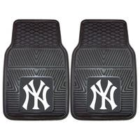 Fanmats New York Yankees 2-piece Vinyl Car Mats