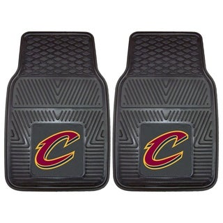Fanmats Cleveland Cavaliers 2-piece Vinyl Car Mats