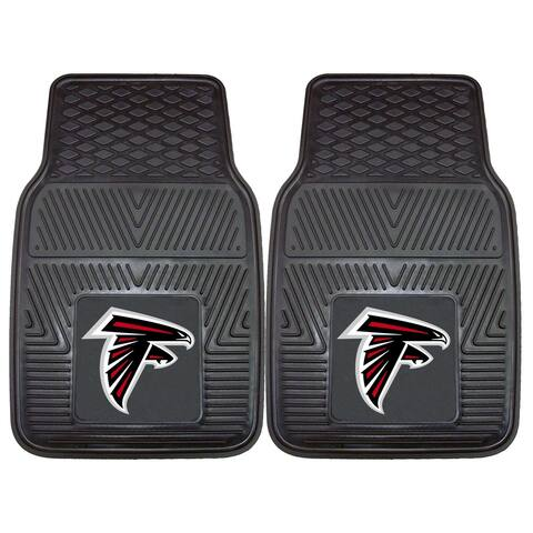 """NFL - Atlanta Falcons 2 Piece Vinyl Car Mat Set 17""""x27"""""""