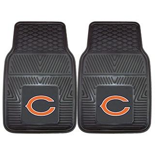 Fanmats Chicago Bears 2-piece Vinyl Car Mats