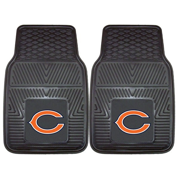 Fanmats Chicago Bears 2-piece Vinyl Car Mats