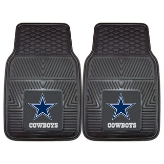 Fanmats Dallas Cowboys 2-piece Vinyl Car Mats