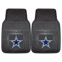 Fanmats Dallas Cowboys 2-piece Vinyl Car Mats - Multi-color